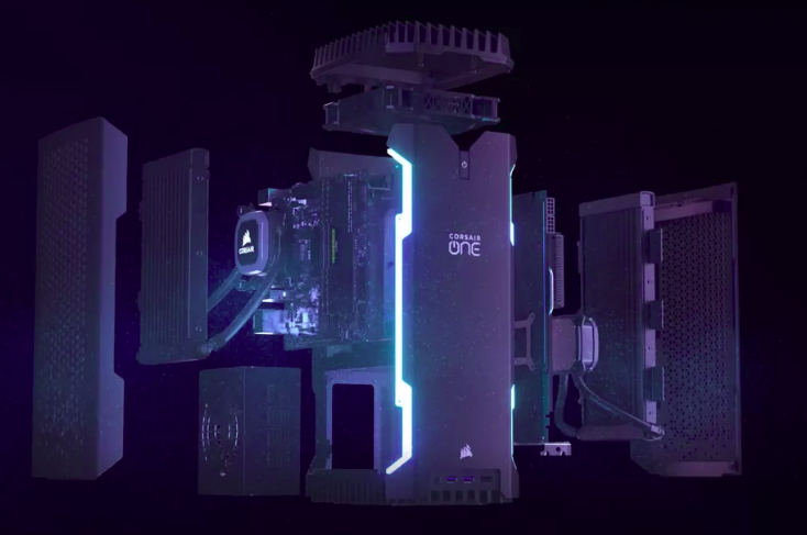 Corsair تجلب معالجات Core i9 و كروت GeForce RTX إلى أجهزتها الجديدة  CES2019