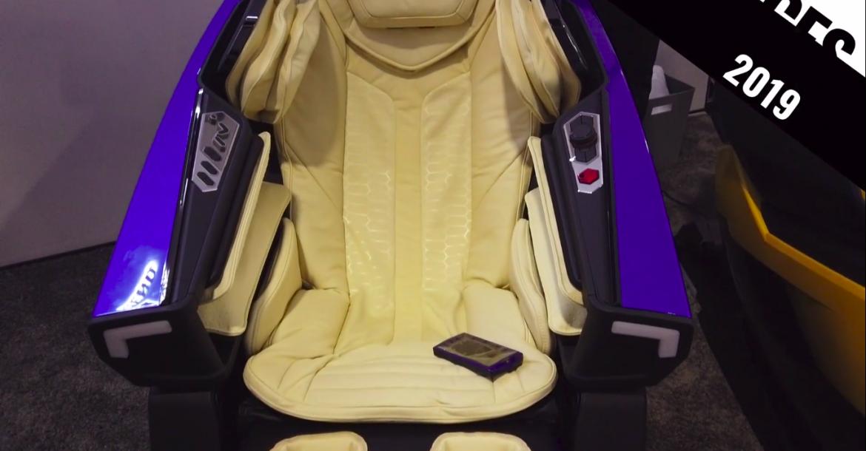 كشفت شركة BodyFriend عن كرسي التدليك المستوحى من سيارة Lamborghini بسعر 30،000 دولار  CES2019