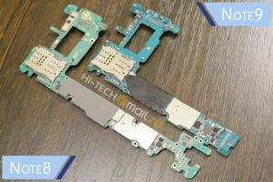 عملية تفكيك لهاتف Galaxy Note9