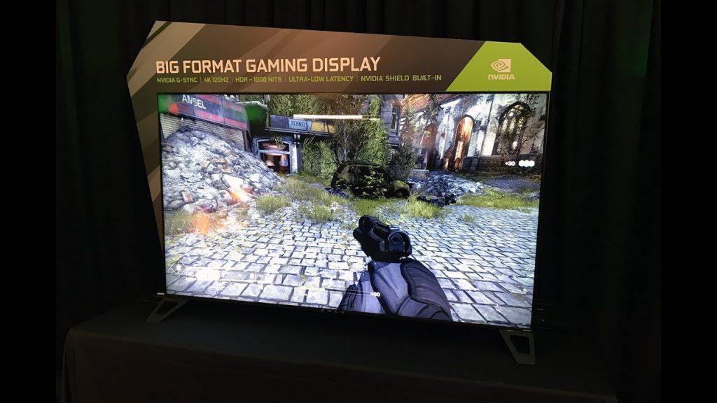 وأخيرا! شاشة تلفاز مخصصة للإلعاب!!