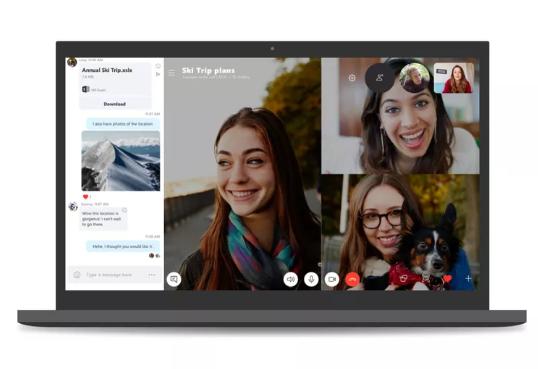 تحديث جديد لتطبيق Skype لسطح المكتب بتصميم يشبه نسخة الهواتف