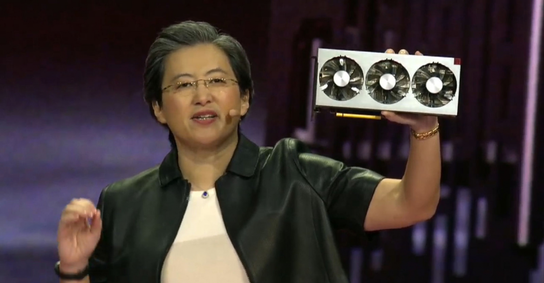 AMD- Radeon VII 7nm GPU