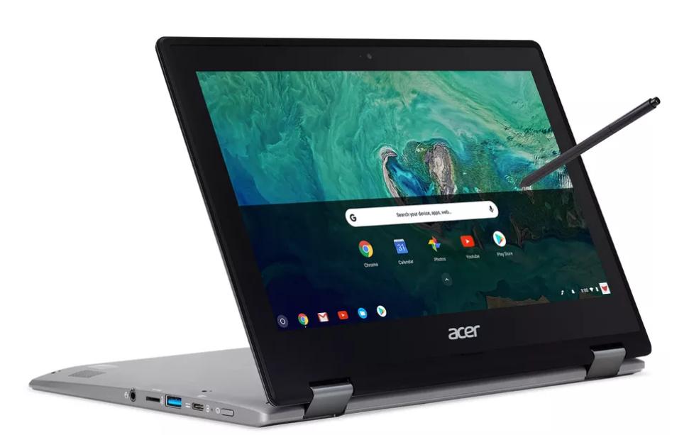 آيسر تُعلن عن Chromebook Spin 11 بمفصل 360 درجة بسعر 349 دولار