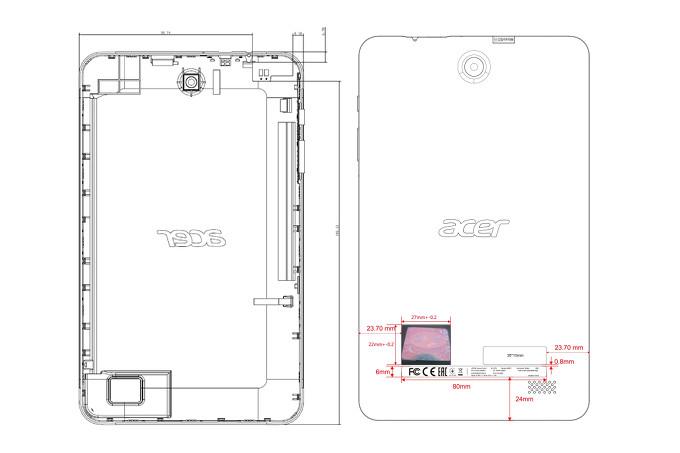 تسريب بعض مواصفات الجهاز اللوحي (Acer Iconia One 8 (2018 قبل الإعلان الرسمي عنه