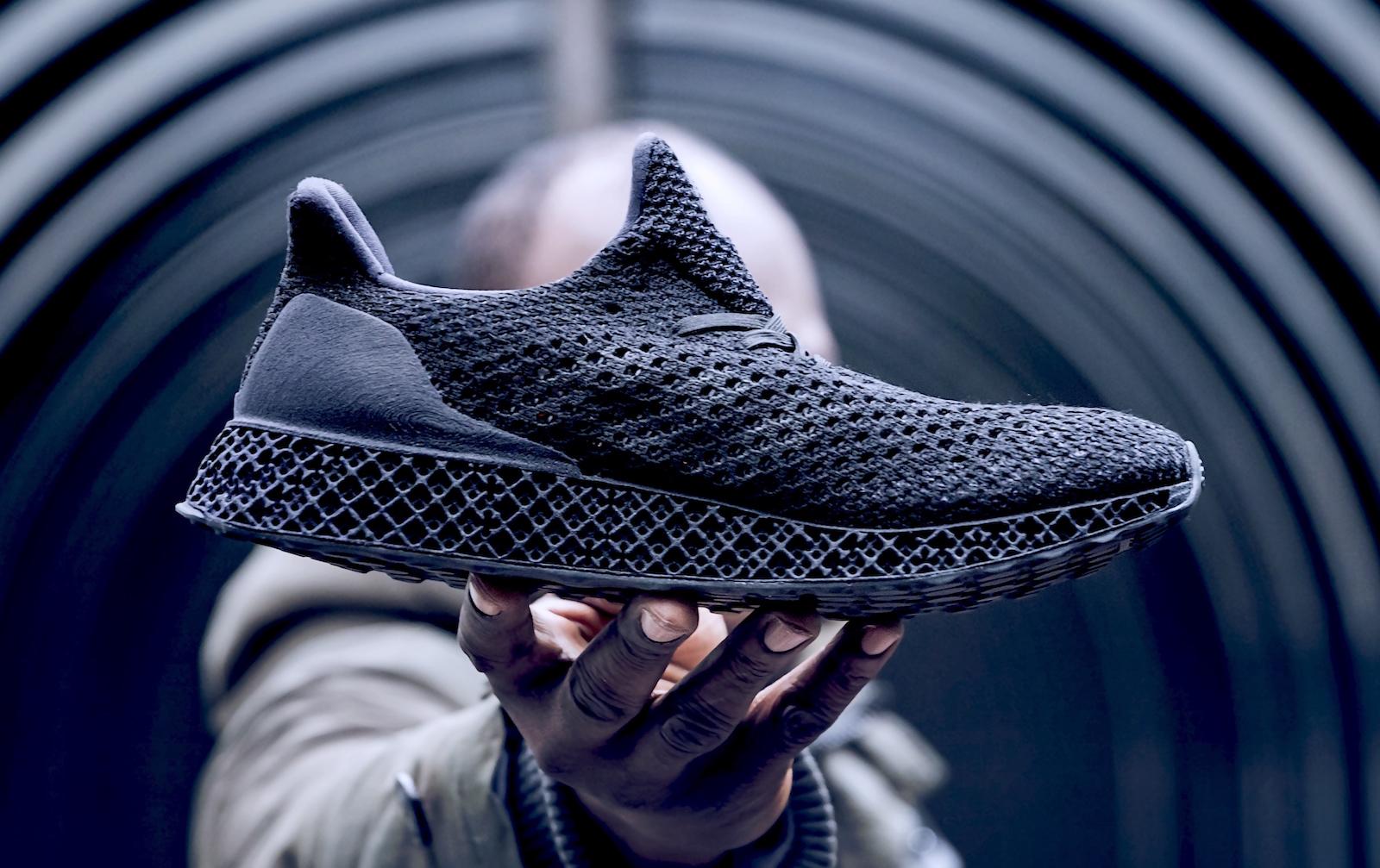 Adidas-3D-running shoe