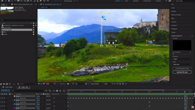 Adobe After Effects let you remove unwanted objects from videos
