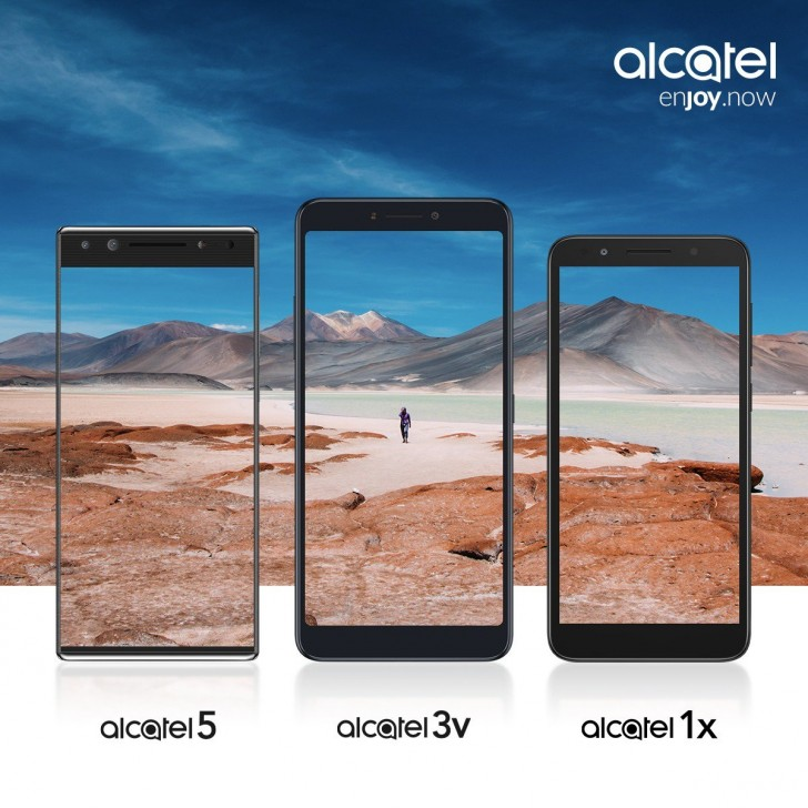 الكاتيل تكشف عن 3 هواتف جديدة في 24 من فبراير