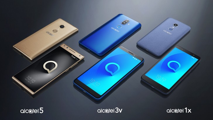 Alcatel new smartphone trio