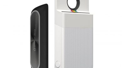 Alexa speaker and Polaroid printer Moto Mods