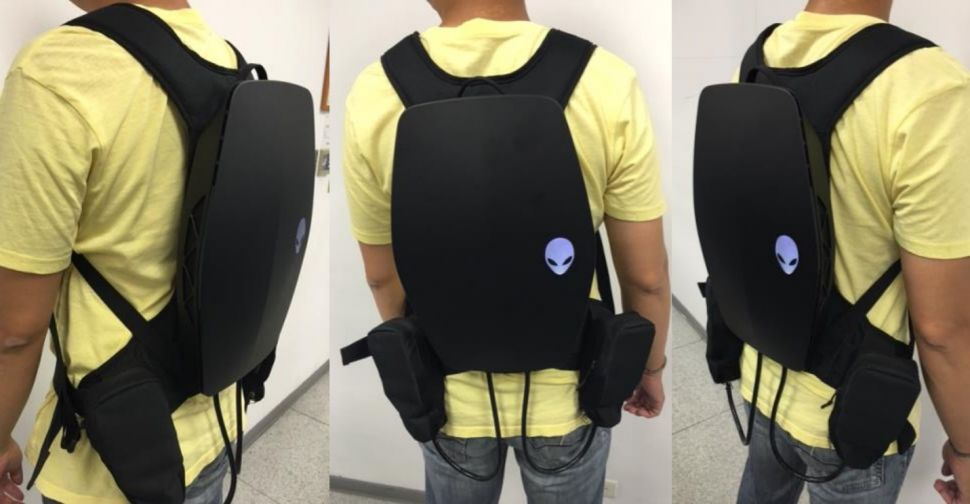 Alienware VR backpack
