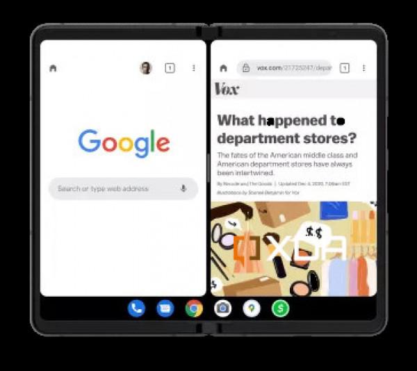 صورة تحديث Android 12.1 يستهدف تحسين تجربة المستخدم في الهواتف القابلة للطي