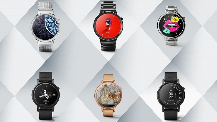 Android Wear -designer- faces