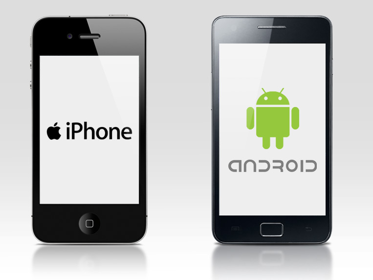 Android apps-iOS apps