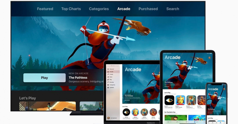 AppleتقدمAppleآركيد أولخدمةاشتراكفيالألعابفيالعالمعلىالأجهزةالمحمولة وأجهزةسطحالمكتب