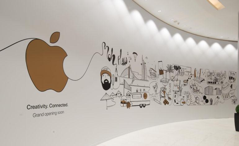 Apple Store in Dubai Mall