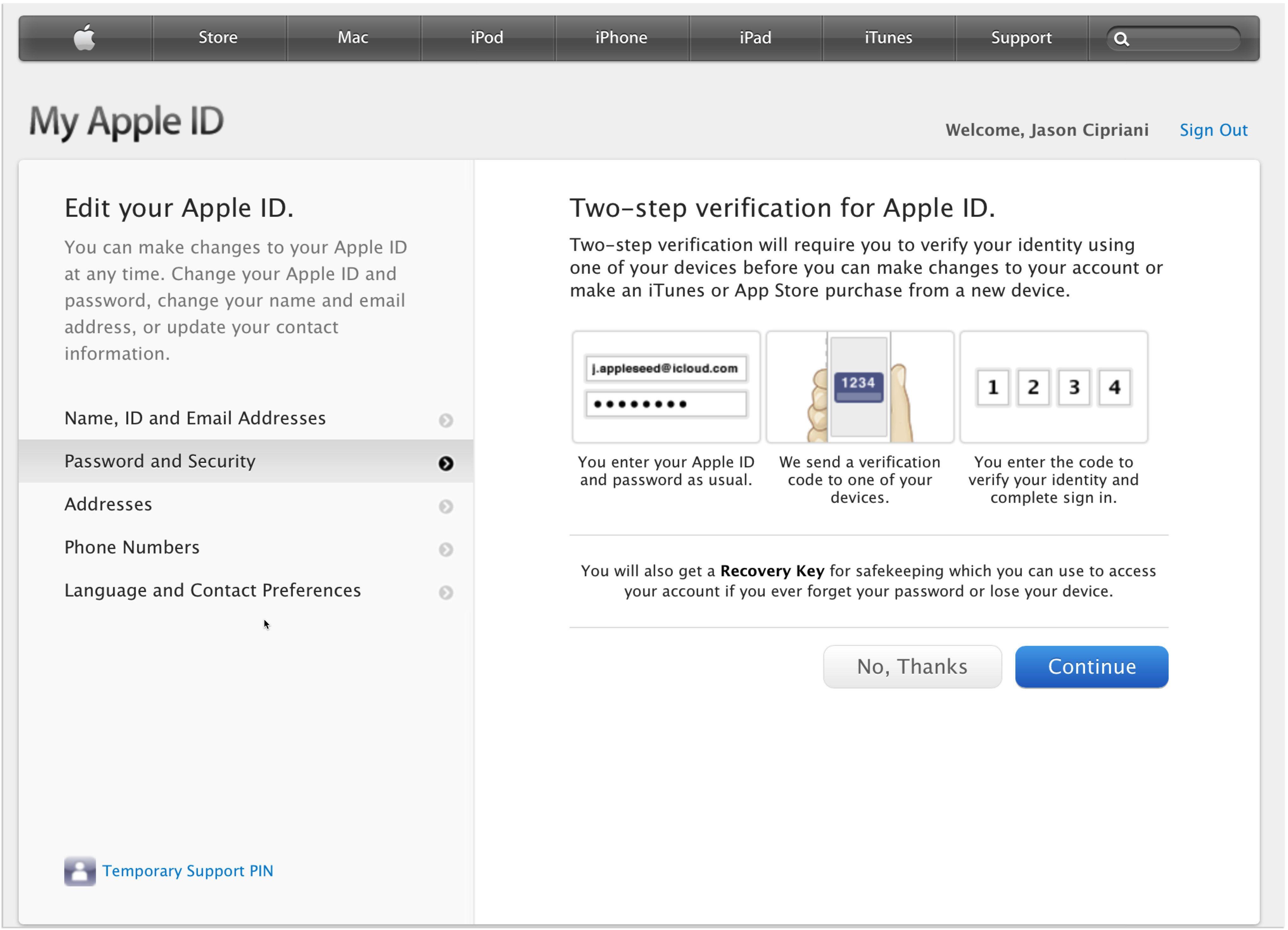 Apple Verification