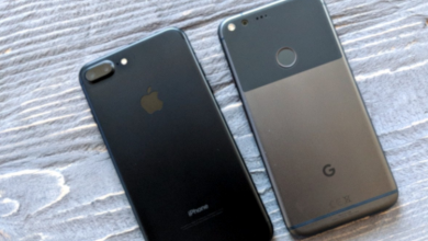 Apple iPhone-Google Android