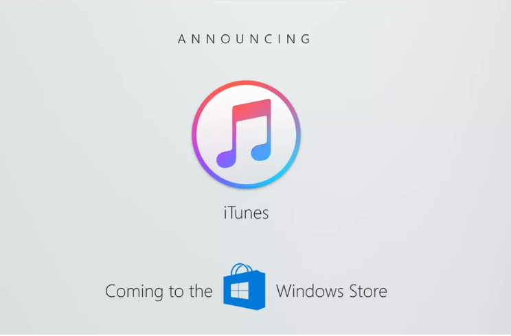 Apple is bringing iTunes to the Windows Store