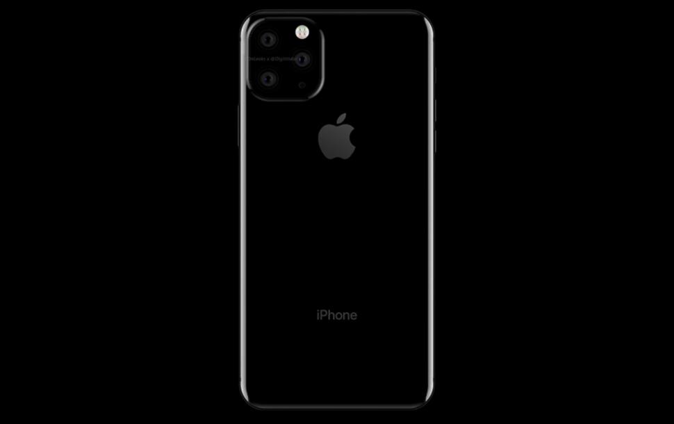 Apple-triple camera on 2019 iPhone