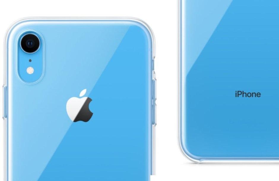 أول حافظة بتصميم شفاف من ابل لهاتف iPhone XR
