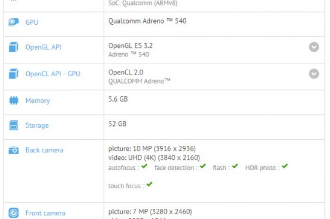 Asus Zenfone 4 Pro specs spotted in GFXBench