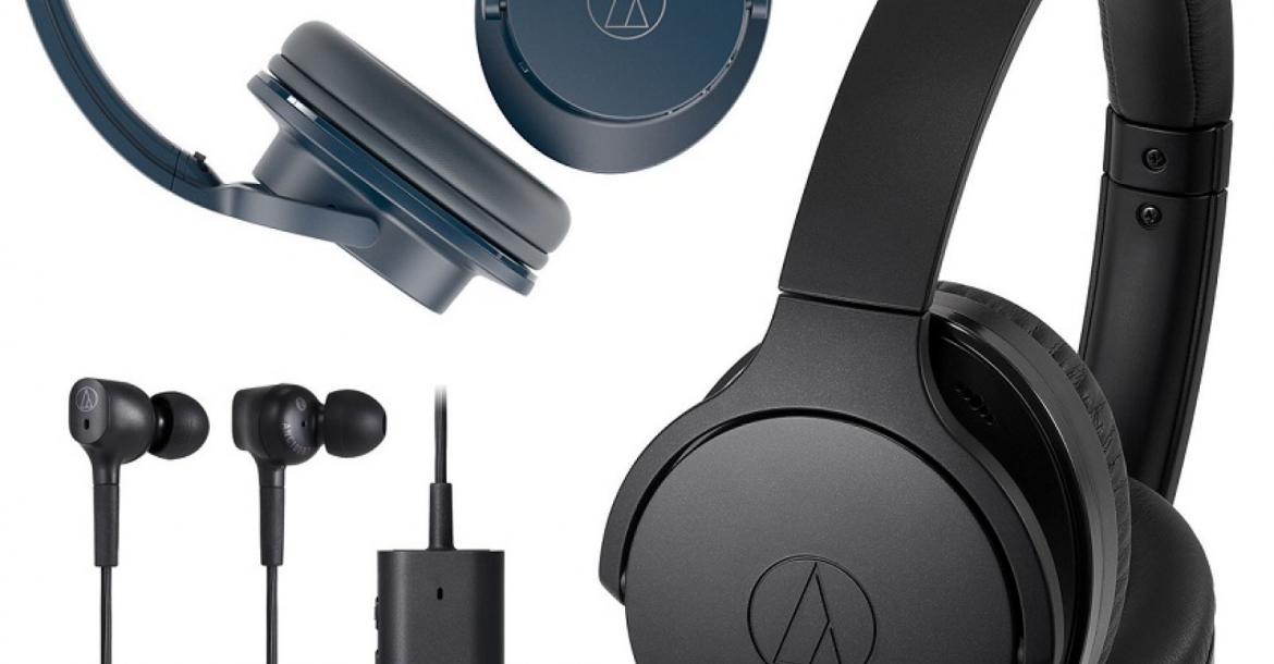 Audio-Technica noise-canceling headphones