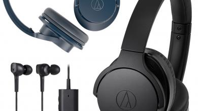 Audio-Technica noise-canceling headphones