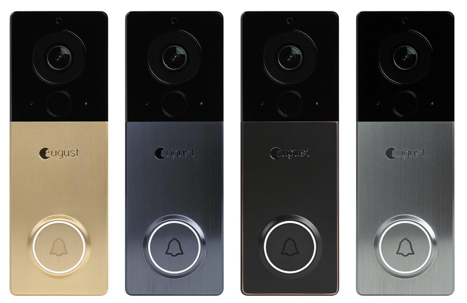 August- new smart doorbell