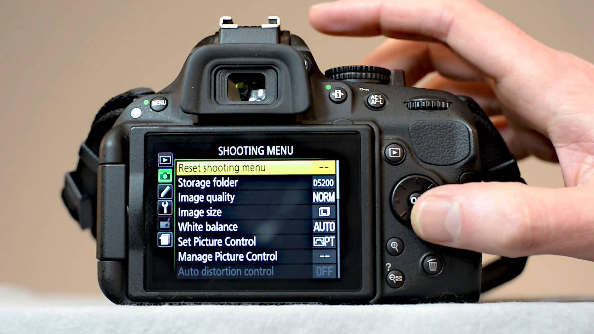 Как сделать настройку на фотоаппарате задний план
