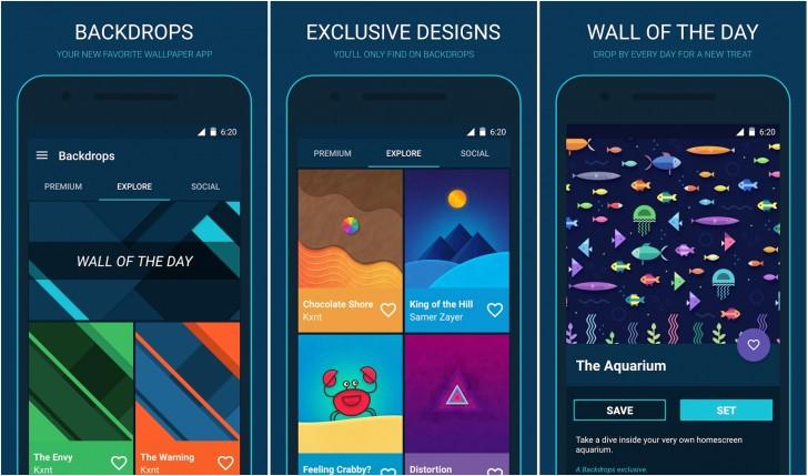 Backdrops-app