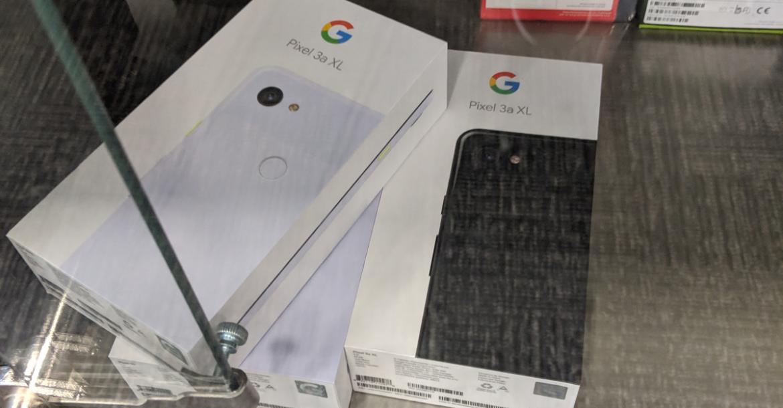 رصد هاتفي Pixel 3a وPixel 3a XL في متجر Best Buy