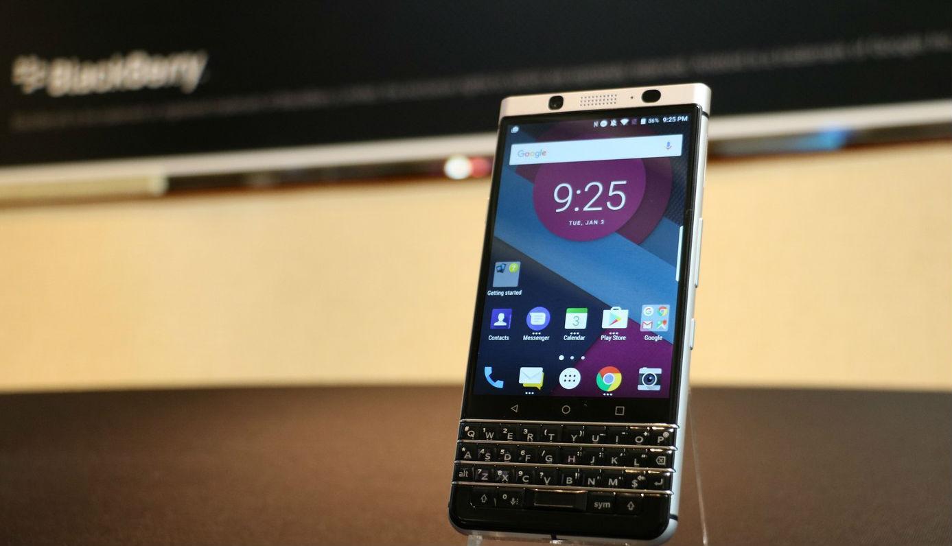 BlackBerry Mercury-QWERTY