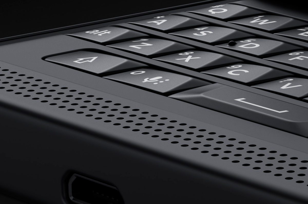 BlackBerry Priv-Keyboard