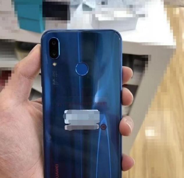 Blue Huawei P20 Lite