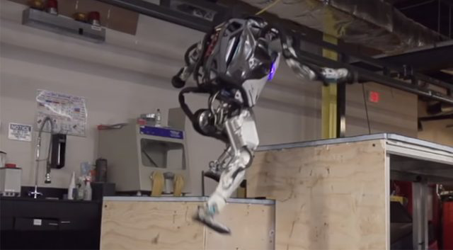 Boston Dynamics- Atlas robot