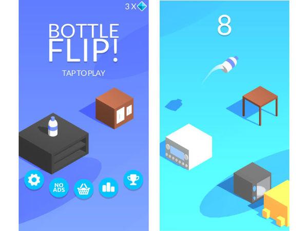 Bottle Flip-game