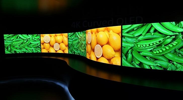 CES-2014-4K-Panasonic-Curved-OLED-TV-Bend-Both-Ways