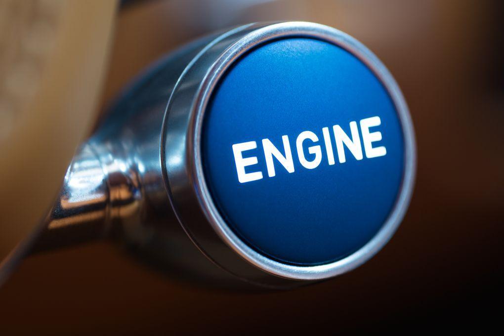 CHIRON engine knob