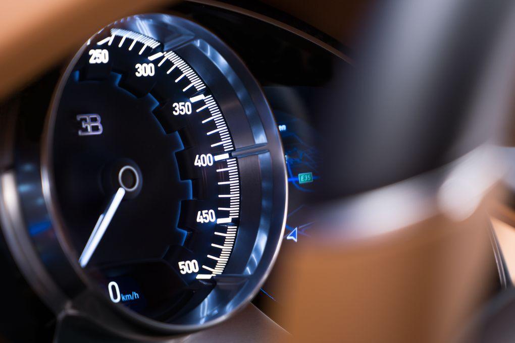 CHIRON speedometer