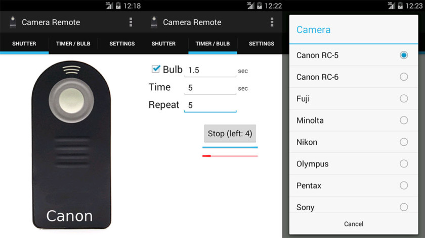 Camera Remote Control