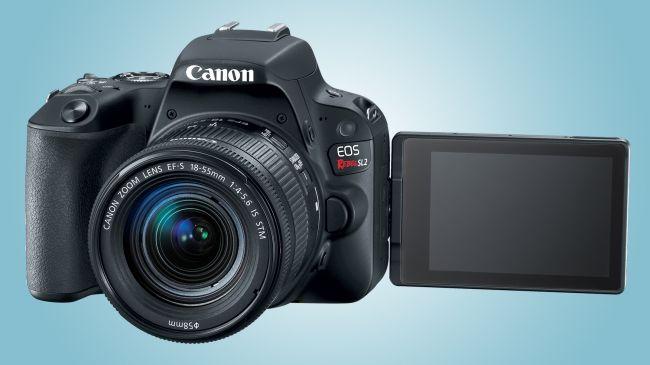 Canon EOS Rebel SL2 screen