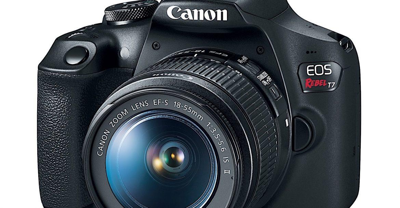 Canon Rebel T7 DSLR