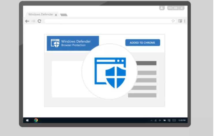 مايكروسوفت تقدم إضافة الحماية Windows Defender إلى متصفح كروم