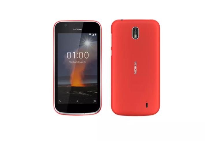Nokia 1 سيأتي بنظام Android Go مع غطاء خلفي قابل للتغيير #MWC2018