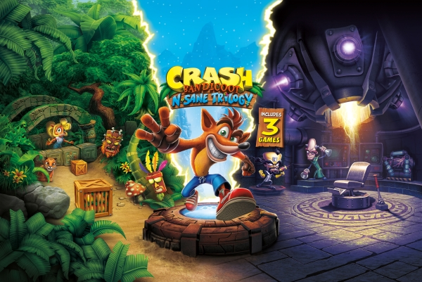 لعبة Crash Bandicoot N. Sane Trilogy