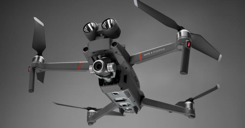 DJI- new drone - swappable search- rescue accessories