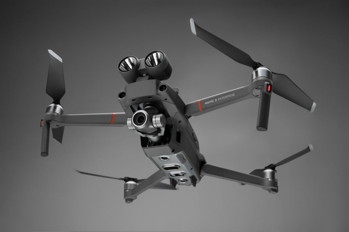 DJI- new drone - swappable search- rescue accessories