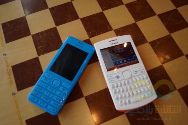 نظره على الهاتفين Asha 205 و Asha 206 من نوكيا وتجربة خاصية Nokia