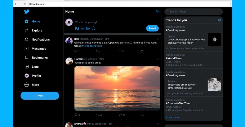 نقدم موقع Twittercom الجديد