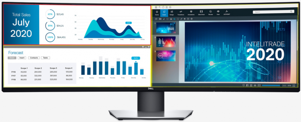 Dell تكشف عن شاشة U4919DW بحجم 49 إنش وجودة عرض QHD